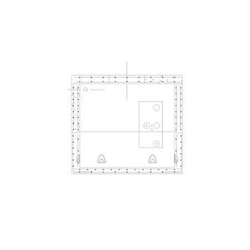 AEP 8'x 22' Standard Electric Manhole image