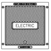 Electric pull box lid image