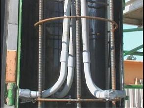 light pole base 2