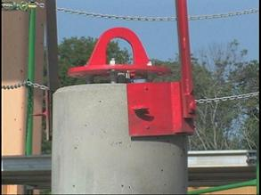 light pole base 6